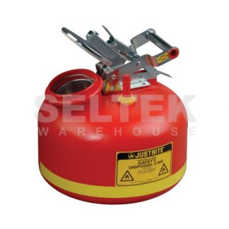 Justrite Polyethylene Liquid Disposal for Flammable Solvents 7.5