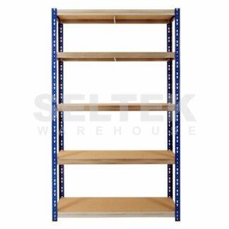 Kwikrack Boltless Shelving - 5 Shelves - 1200m Wide - 1250Kg