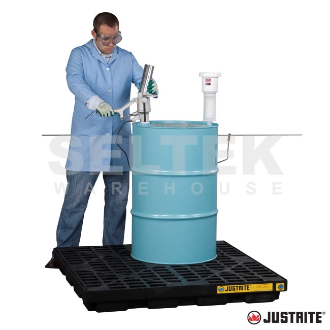 Justrite Aerosolv Aerosol Can Disposal System Jr 28202