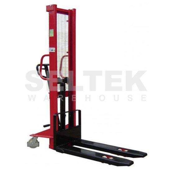 Hydraulic Pallet Lifters : Hydraulic pallet stacker kg m lift lm ki
