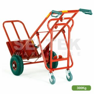 Heavy Duty Three Way Sack Truck 300Kg