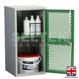 Steel Storage Cabinet With Mesh Door - 915 x 457 x 457mm