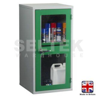 Steel Storage Cabinet - Polycarbonate Door - 915 x 457 x 457mm