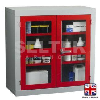 Steel Storage Cabinet - Polycarbonate Door - 915 x 915 x 457mm