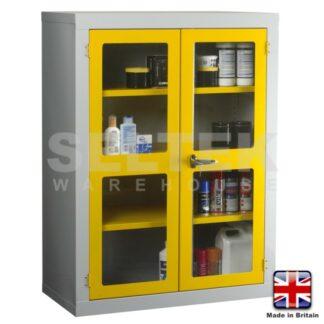 Steel Storage Cabinet - Polycarbonate Door - 1220 x 915 x 457mm
