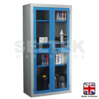 Steel Storage Cabinet - Polycarbonate Door - 1830 x 915 x 457mm