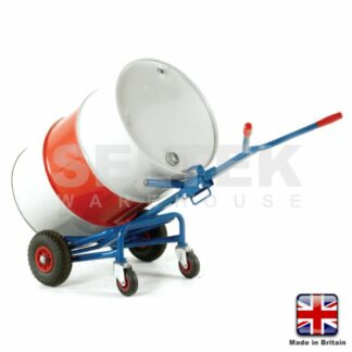 Oil-Drum Truck - 2 Front Wheels & Rear Support Castors