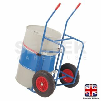 Oil-Drum Trolley with Pouring Stand & Rotator