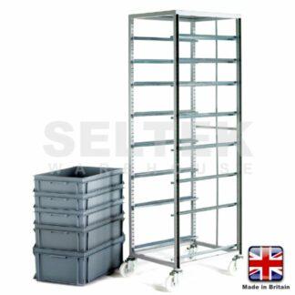 Euro Trolleys - Adjustable Tray Rack