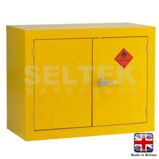 Steel Flammable Storage Cabinet - 712 x 915 x 457mm