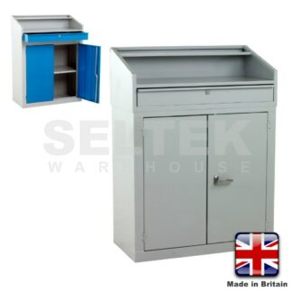 Foremans - Supervisors Desk With Doors - Cupboard