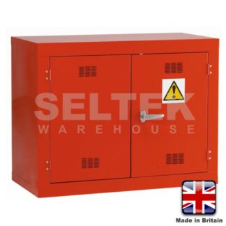 Steel Chemical/Pesticide Cabinet - 712 x915 x 457mm