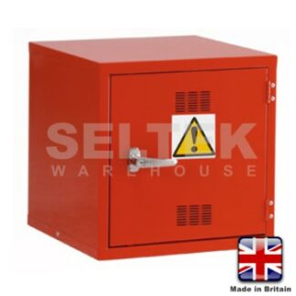 Steel Chemical/Pesticide Cabinet - 457 x 457 x 457mm