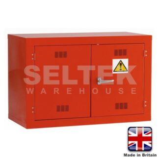 Steel Chemical/Pesticide Cabinet - 900 x 1200 x 500mm