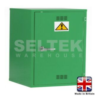 Steel Chemical/Pesticide Cabinet - 610 x 457 x 457mm