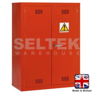 Steel Chemical/Pesticide Cabinet - 1800 x 1200 x 500mm