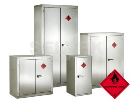 Stainless Flammable Storage