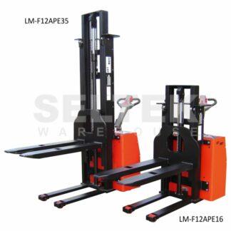 High Lift Powered Pallet Stacker 1200Kg