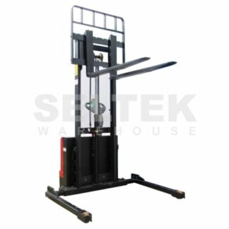 Fully Powered Straddle Pallet Stackers 1000Kg