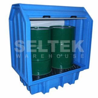 Spill Containment Pallet For 2 Drums