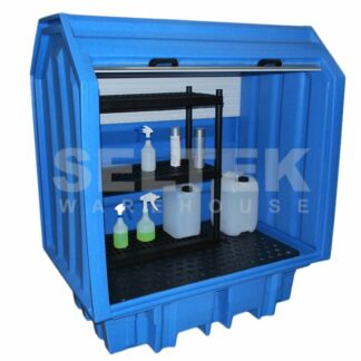 Spill Containment Pallet with Shelf