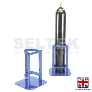 Hinged Latch Cylinder Stand - 280 to 285mm Diameter