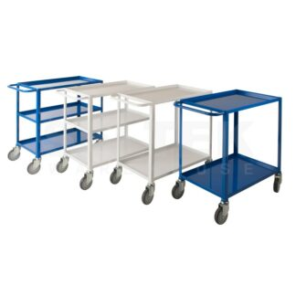 Low Cost Tray Trolley - 2 or 3 Shelves - 150Kg