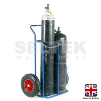 Classic Welders Trolley - Oxygen and Acetylene Cylinders