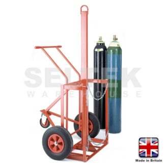 Lifting Trolley for 2 Cylinders - 2 x 180 to 305mm Diameter
