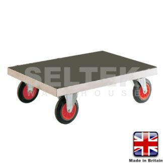 Stainless Steel Platform-Dolly - Base Only - 500Kg