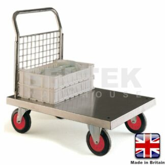 Stainless Steel Platform Truck with Single End - 500Kg