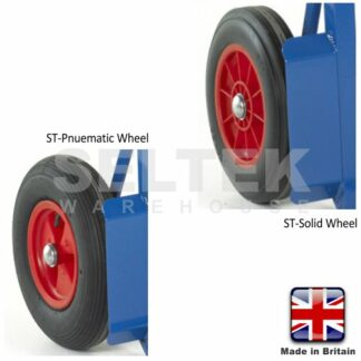 Replacement Tyred Wheel