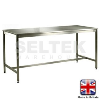 304 Stainless Steel Workbench - Medium Duty - 300Kg