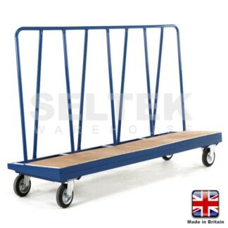 Hi-Frame Plate Truck - Plywood Deck - 500Kg or 750Kg
