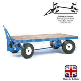 Heavy Duty Towing Trailer - Ackerman Steering - 3000Kg