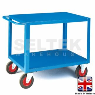 Mobile Table Trolley - Steel Top and Bottom - 500Kg
