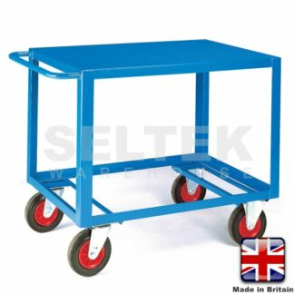 Mobile Table Trolley - Steel Top Only - 500Kg