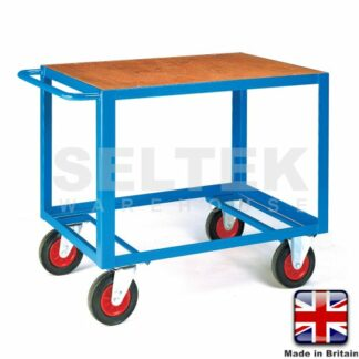 Mobile Table Trolley - Plywood Top Only - 500Kg