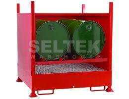 Steel Drum Storage Units