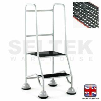 Mobile Safety Steps - GRP Treads 2 Steps