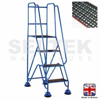 Mobile Safety Steps - GRP Treads 4 Steps