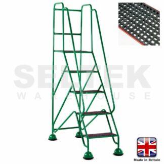 Mobile Safety Steps - GRP Treads - 5 Steps