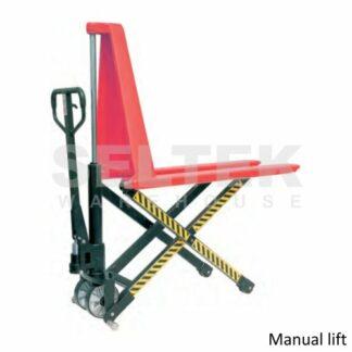 High Lift Manual Pallet Truck