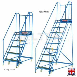 9 Tread - Blue Range Warehouse Steps - 760mm Treads