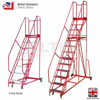 9 Tread - Red Range Warehouse Steps - 560mm Treads