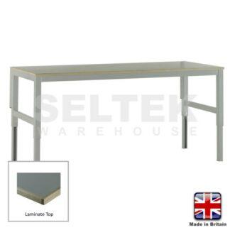 Workbench - Height Adjustable - Laminate Top - 300Kg