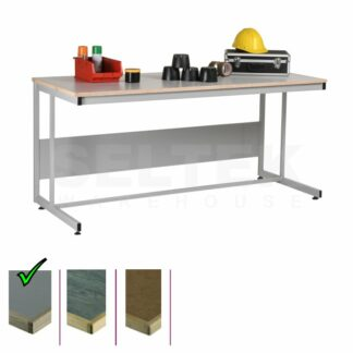 Cantilever Workbench - Laminate Top - 300Kg