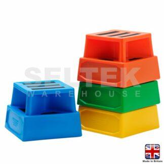 Superior Square Plastic Safety Steps