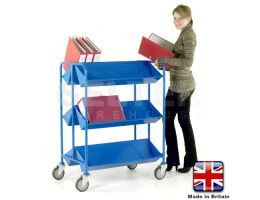 Commercial Book Trolleys