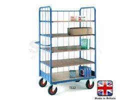 Warehouse Shelf Trucks